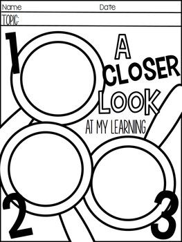 REFLECTIONS OF LEARNING- PRINTABLES AND ACTIVITIES FOR