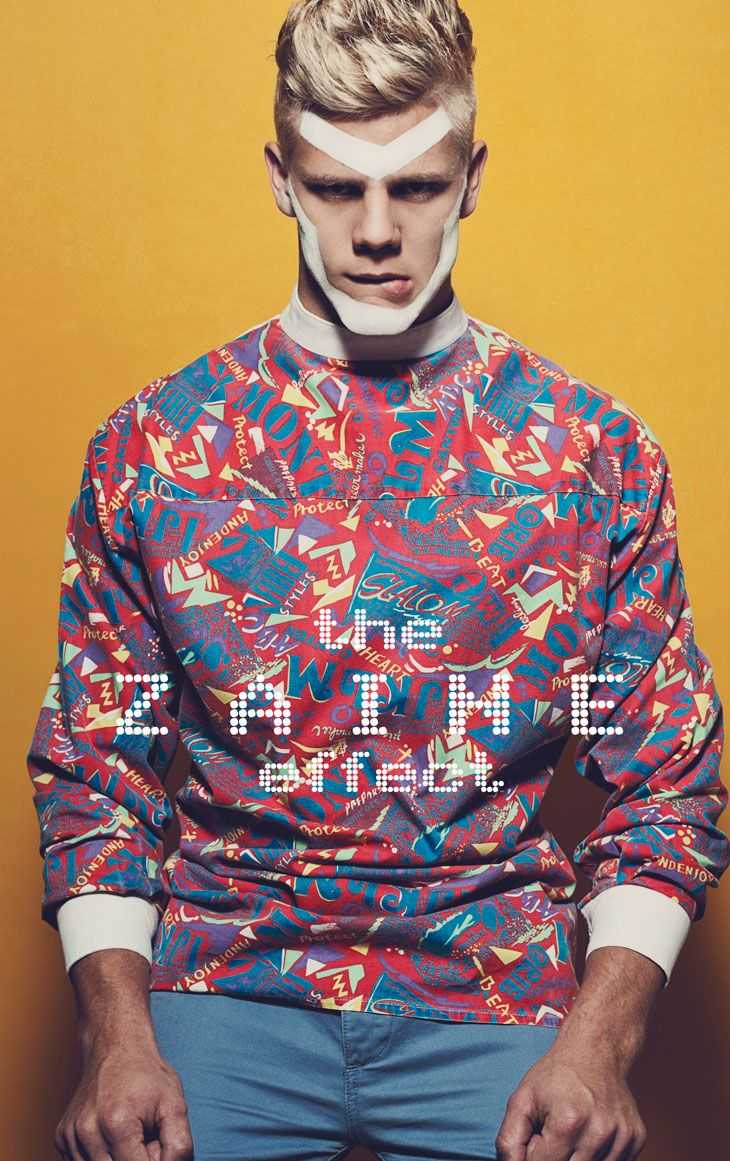 The Zaine Effect. Zaine Pringle. Stylist: Rebecca Williams. Pics: Ian Chang. Male Model Scene July 2013. #men #editorials #fashion
