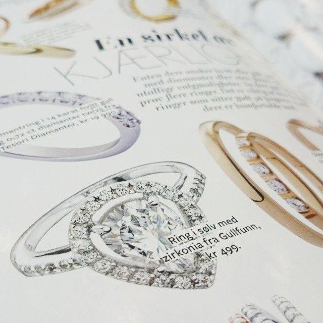 Har du sett denne nydelige ringen i sølv og zirkonia fra Gullfunn i bryllupsmagasinet Ditt Bryllup? Kun kr 499,- #gullfunnbryllup #forlovelsesring #zirkonia #bryllup #bryllupsmagasin #DittBryllup #gullfunn