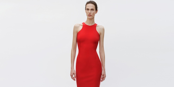 Zara racer back dress from the June look book, $79.90. Need! Need! Need!