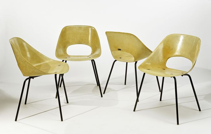 années 50, Pierre Guariche, chaise tulipe, 1953, ©thegoodolddayz.files.wordpress.com