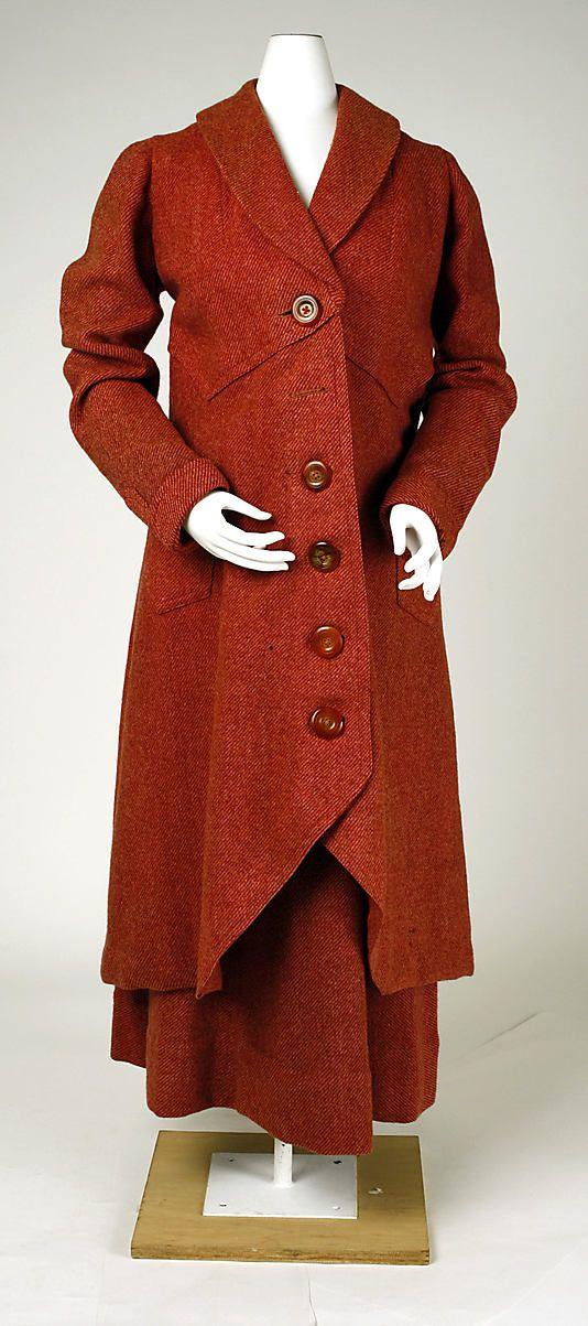 Suit, ca. 1914-1918