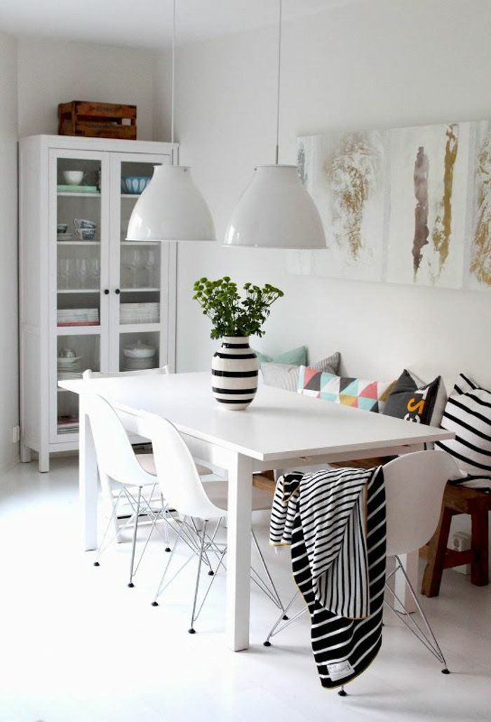 24 best décoration salle à manger images on pinterest | dining ... - Decoration Salle A Manger Contemporaine