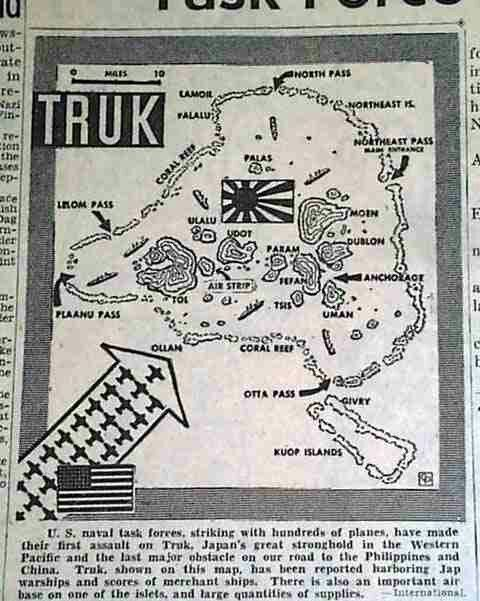 an introduction to the island of truk Indeed, truk enjoys the distinction of being the last major island group in  in his  historical introduction on the carolines freycinet tells of several canoe.
