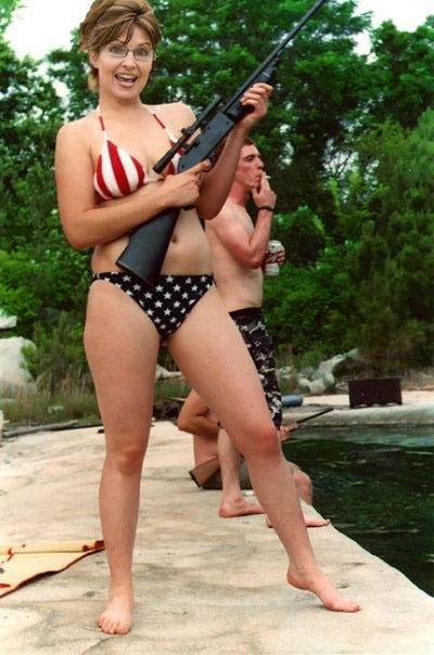 I got this bikini for respecting the flag !