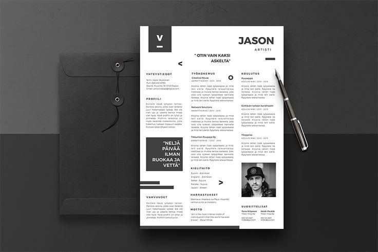 Jason CV-pohja design on vihdoin valmis. Löydät sen osoitteesta https://cvpohja.fi/tuotteet/jason/ :)