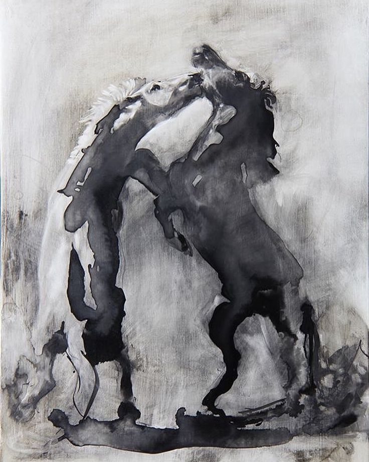 Indian Ink on cloth I tried to get the flow of the ink to speak of the flow and rhythm in the movement of the horses. I would like to make a sculpture of this scene. It will be on exhibit this weekend at the Eatwell Gallery #inkdrawing #contemporaryart #equineart #equineartist #horses #southafricanartist #artexhibition #Noordhoek #pin