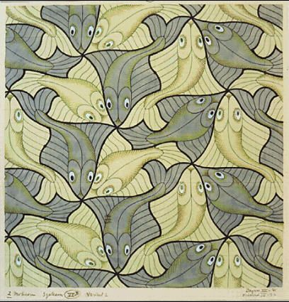 m.c. escher, i would love it if somebody made these into floor tiles