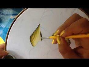 Pintura en tela vaquita # 1 con cony - YouTube