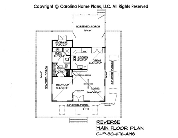 Tiny country cottage house plan sg 676 sq ft affordable for Affordable cottage house plans