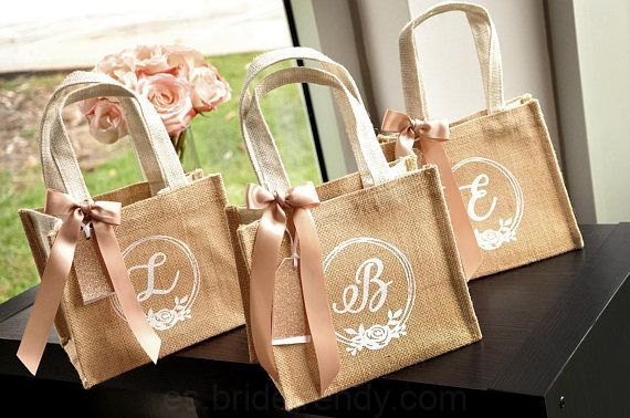De La Muchacha De Flor Bolsa De Regalo Cant 1 Niña De Las Flores Ideas De Regalo Niña De Las Flower Girl Gift Bag Flower Girl Gifts Personalized Gift Bags