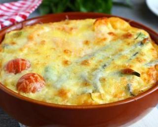 Gratin léger de légumes aux Knaki® : http://www.fourchette-et-bikini.fr/recettes/recettes-minceur/gratin-leger-de-legumes-aux-knakir.html