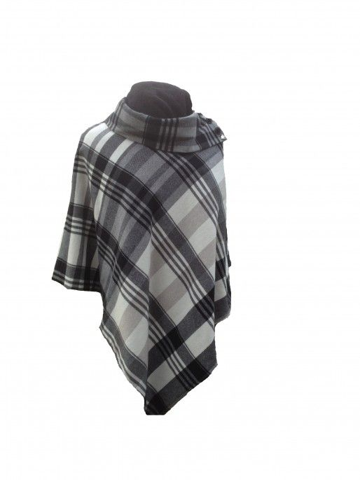 100% Pure Cashmere Ladies Poncho