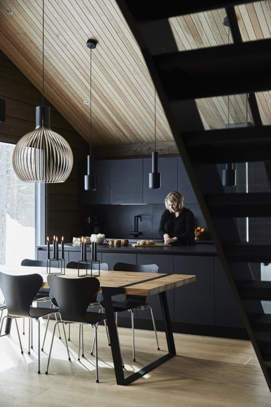 Inspiration for natural holiday homes and log cabins