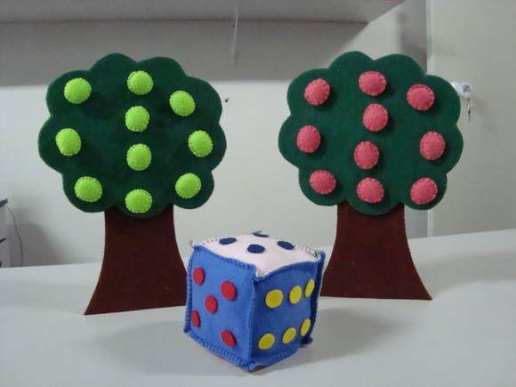 Jogo da árvore...desenvolvido para auxiliar o professor no ensino das operações…