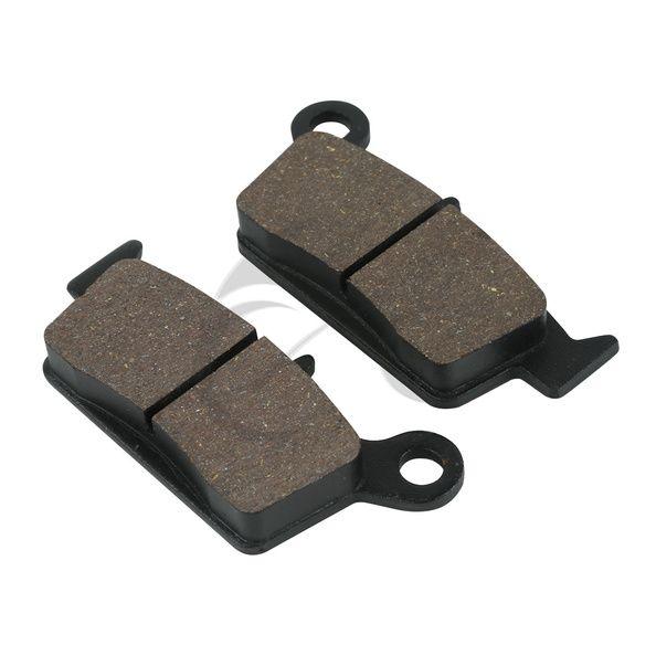Rear Brake Pads For Honda SL 230 CRM XLR XR 250 NX4 Falcon XR400 XR600 XR650 SUZUKI RM 125 RM250 RMX 250 DR-Z 400  #Affiliate