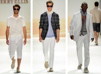 Muodin must-juttuja 2013 miehille:  valkoiset housut