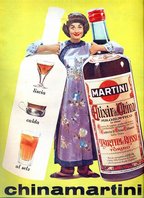 Adv - China Martini - 1964