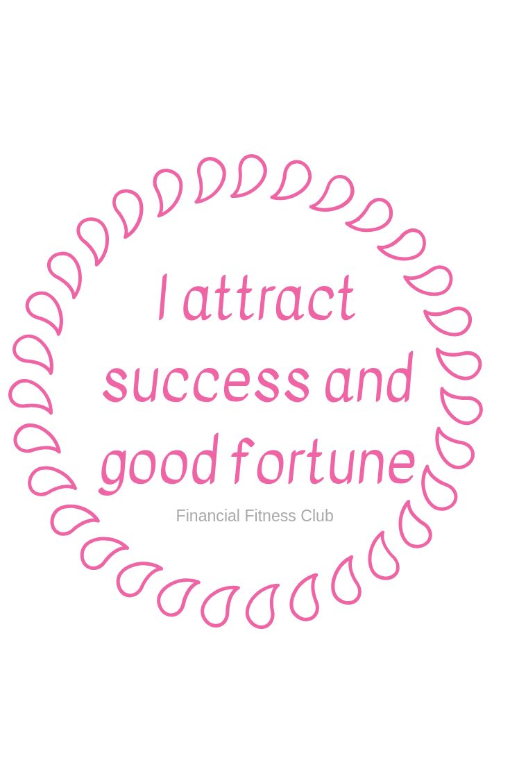 Mug – I attract success & good fortune – Business Affirmation Coffee Mug | Tea Cup | Inspirational Mug | Quotes Mug | Law of Attraction