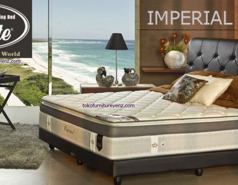 Harga Kasur Spring Bed Elite IMPERIA  Matras 35 cm, Sandaran Allium 133cm,Divan Monaco 25cm (Medium Firm) - See more at: http://www.tokofurnitureyenz.com/product/harga-kasur-spring-bed-elite-imperial/#sthash.mdW1hAiC.dpuf