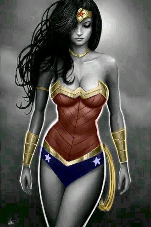 Wonder Woman Erotic Fantasy Art