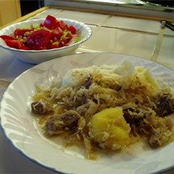 Easy Pork and Sauerkraut Recipe