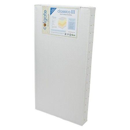 Colgate Classica III Foam Crib Mattress - White : Target
