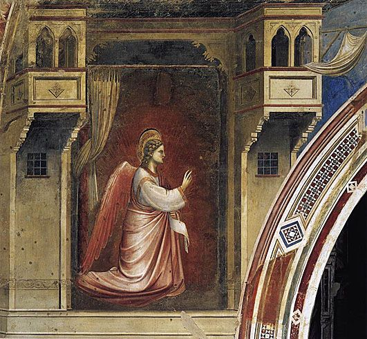 Annunciation: The Angel Gabriel Sent by God: 1306