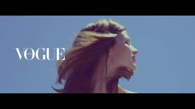Bette Franke / Vogue Turkey BTS by serifcan ozcan. © 2013 Hb member @ION Studio