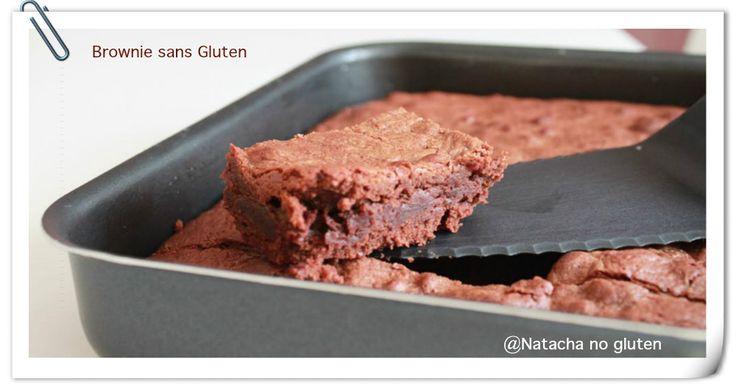 Brownies chocolat sans gluten