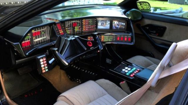 Kitt (Knight Rider Trans Am) replica