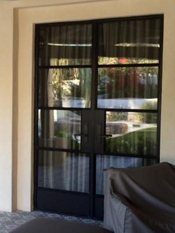 Steel French Door 07 French Doors French Doors Patio Glass French Doors