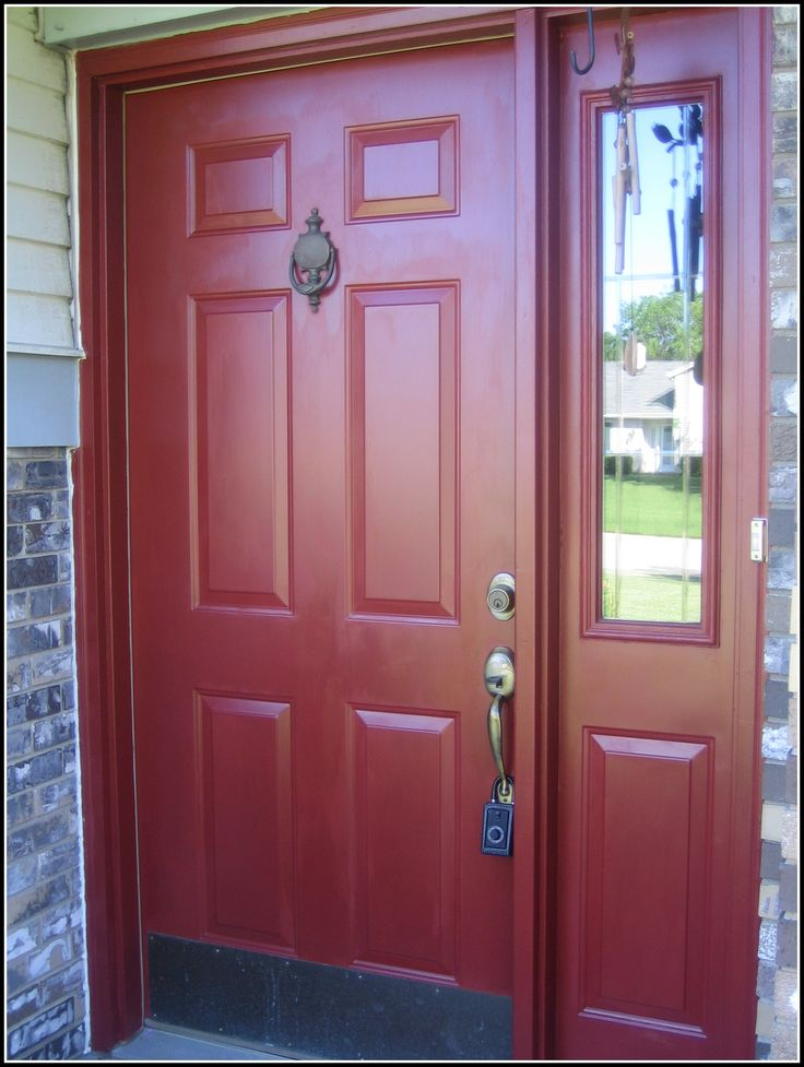How To Paint A Front Door 146 best front door colors images on pinterest | red doors, front
