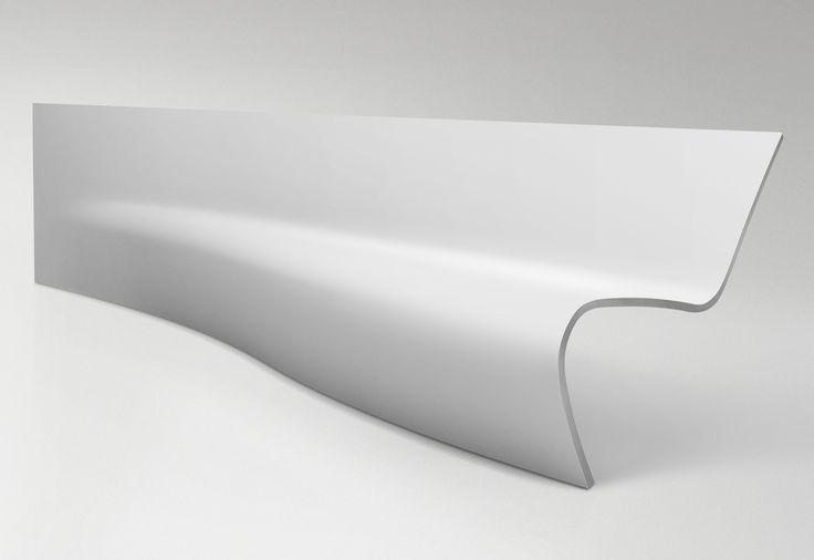 DuPont™ Corian® Volupté bench