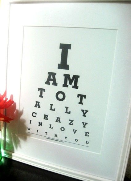 I Love You GiftValentine Gift for husband boyfriend I by Eyecharts