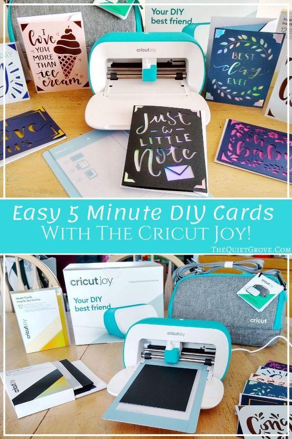 Introducing The New Cricut Joy Cricut Projects Vinyl Diy Cards Joy Cards