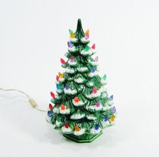 List Of Ceramic Christmas Tree With Lights Cracker Barrel Xmas