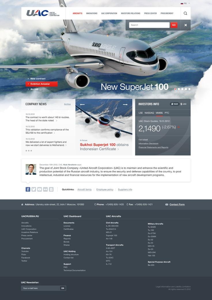 Mais um ótimo layout do designer Yuriy Degtyar - www.yuryorama.com