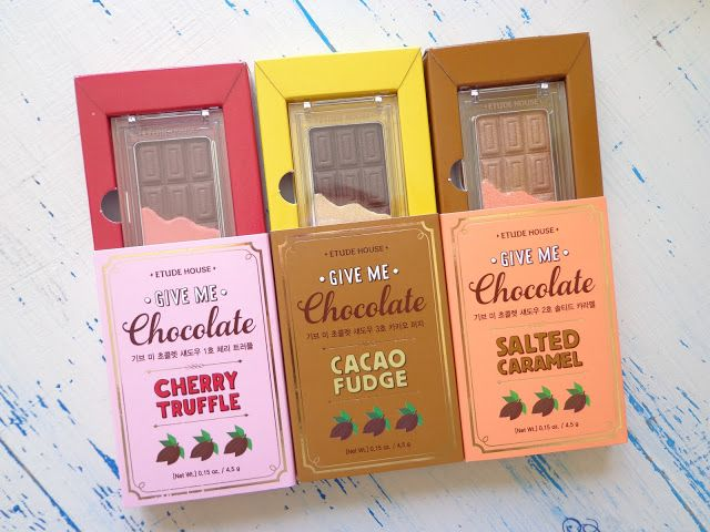 MaquiLab: Good Enough to Eat! Etude House Give Me Chocolate Eyeshadow