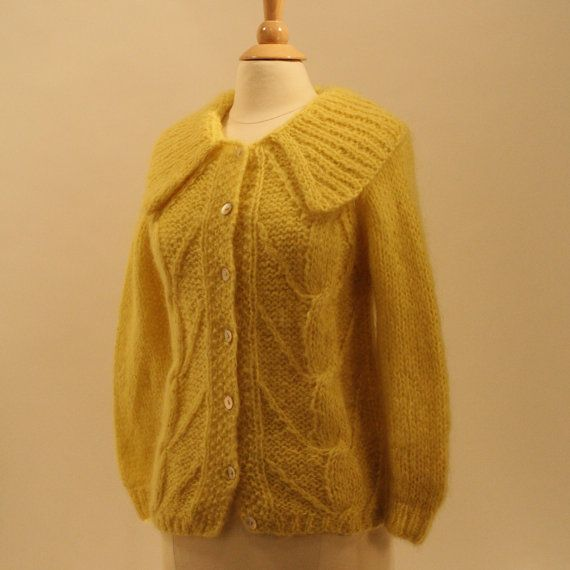 Vintage Mohair Sweater 60
