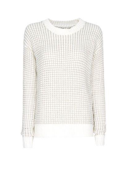 MANGO - Metallic chunky knit sweater