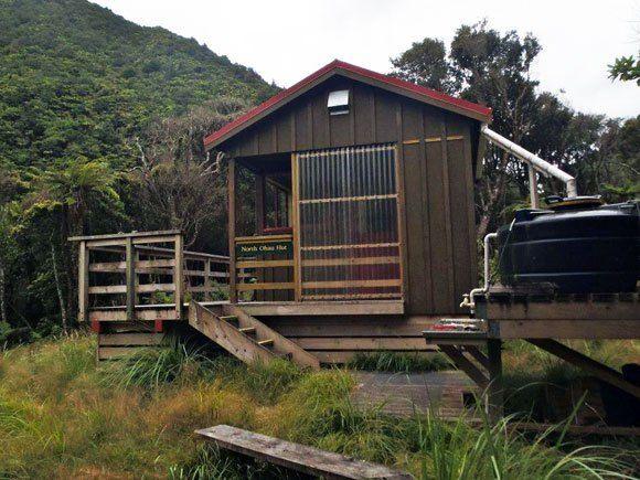 North Ohau Hut, Tararua Forest Park, New Zealand #dochuts