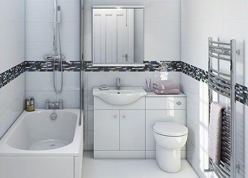 small bathroom ..