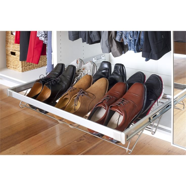 Flatpax 900mm Sliding Shoe Rack