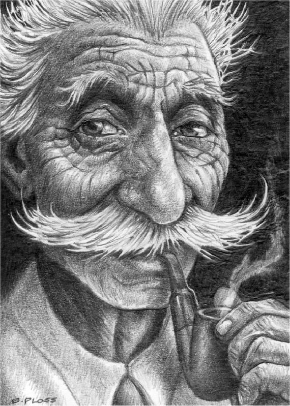 Items Similar To Seigfried Aceo Print On Etsy Potrait Painting Graphite Drawings Card Art