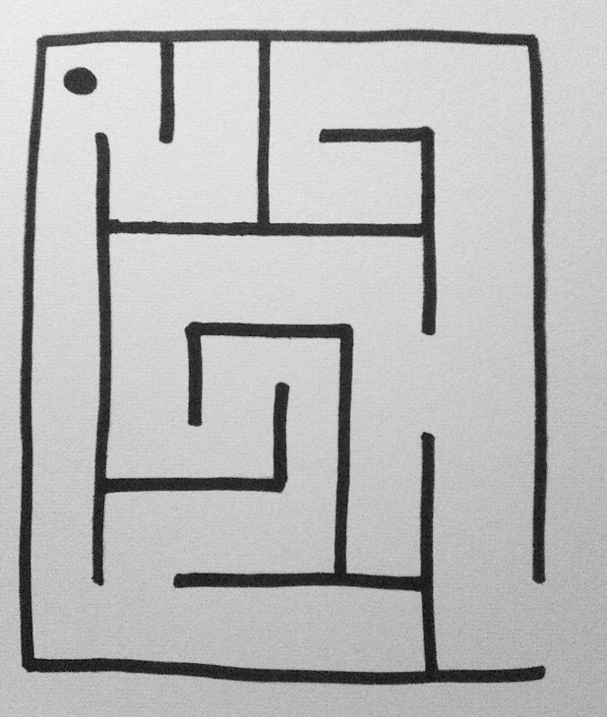 Simple Square MazeSimple Square Maze