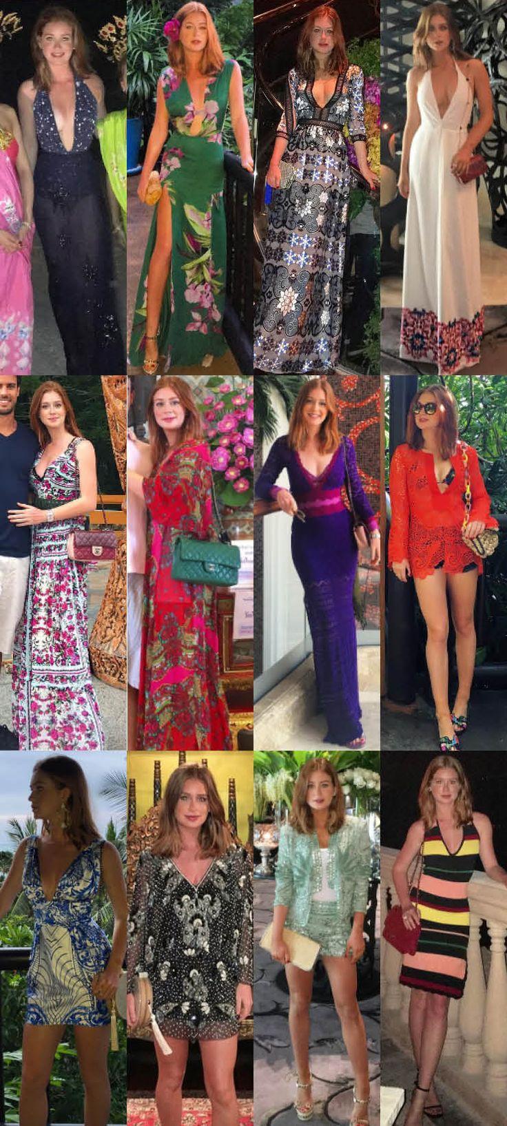 Só dá ela! Marina Ruy Barbosa está esbanjando estilo em sua viagem à Tailândia! E não foi só o noivado da nossa ruivinha favorita que chamou a atenção dura