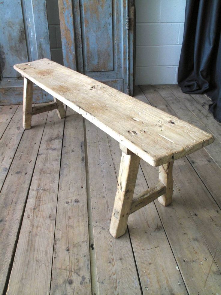 1000 Images About Old Stools On Pinterest Wooden Benches Reclaimed Wood Benches And Sanding Wood