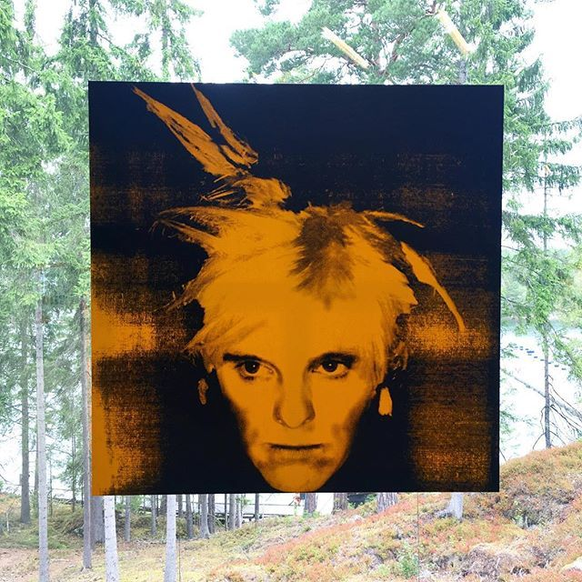 Have a peek inside Andy Warhol exhibition at Artipelag, Stockholm. Link in bio…