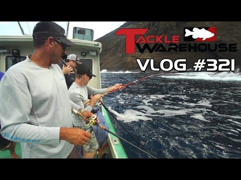 Tackle Warehouse Hawaii 2014 Part 5 Saltwater feat. Jared Lintner - Tackle Warehouse VLOG #321 - YouTube